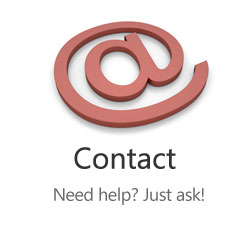 Contact - Need help?  Just ask!